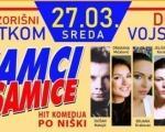 """Urnebesna komedija """"Samci i samice"""" u 27. marta Nišu"""