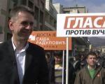 Радуловић започео кампању на југу Србије