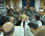 Slava Kopnene vojske: Osveštana spomen-soba Komande Kopnene vojske u Nišu