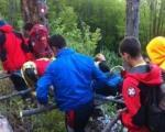 Погледајте како је изгледала акција спасавања повређеног планинара на Сувој планини (ФОТО)