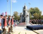 У Прокупљу откривен споменик Гвозденом пуку и одржана седница Владе Србије