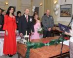 Алексинац: Новогодишње венчање у поноћ