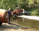 Алексинац: Жедни поред језера