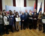 Uručene nagrade najboljim studentima Univerziteta u Nišu