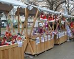 Новогодишње, типске тезге у Лесковцу