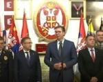 Vučić: Naše jedinice su sve pripremljenije, obučenije i opremljenije
