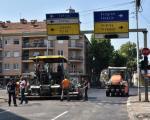 Обновљен асфалт у Вардарској и на Тргу Павла Стојковића