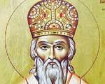 Свети Василије Острошки - Владика Арсеније служио Свету архијерејску Литургију