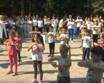 """Поводом Међународног дана физиотерапеута, одржан јавни час вежбања на тераси """"Радона"""""""