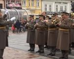 Сретење: Променадни дефиле Војног оркестра Ниш (ВИДЕО)