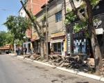 Rekonstrukcija trotoara u Voždovoj ulici u Nišu