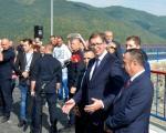 Vučić na Gazivodama: Ovde se najbolje vidi težina problema sa kojima se suočavamo