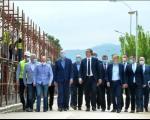 Vučić obišao radove na rekonstrukciji Zdravstvenog centra Prokuplje