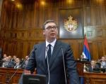 Rasprava o Kosovu i Metohiji, Vučić podneo izveštaj
