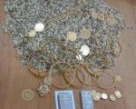 Више од пола килограма злата и сребра сакривено у житу