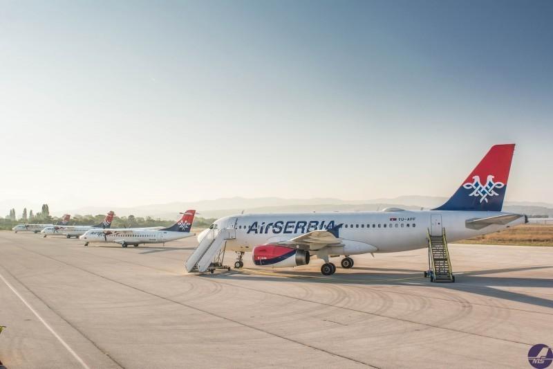 Скоро 20 хиљада више путника у августу на нишком аеродрому у односу на прошлу годину