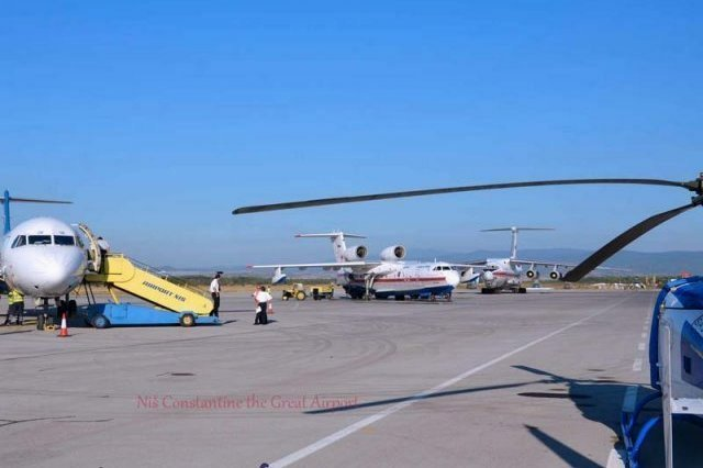 """Аеродром """"Константин Велики"""" лидер у региону по увећању путника у кратком временском периоду"""