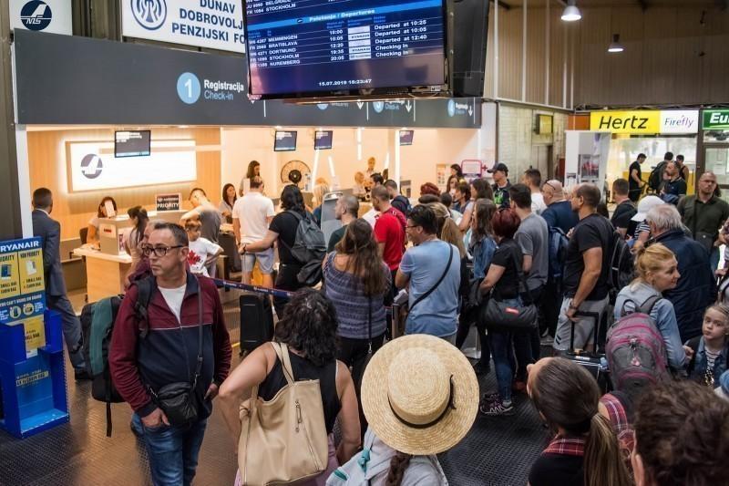 "Аеродром ""Константин Велики"" забележио 20 одсто више путника него 2018."