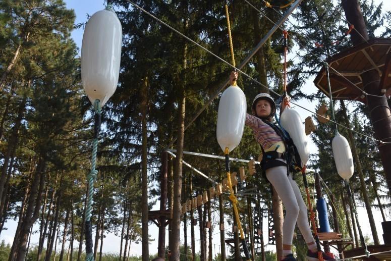"Otvoren ""Avantura park"" u Leskovcu - deca oduševljena"