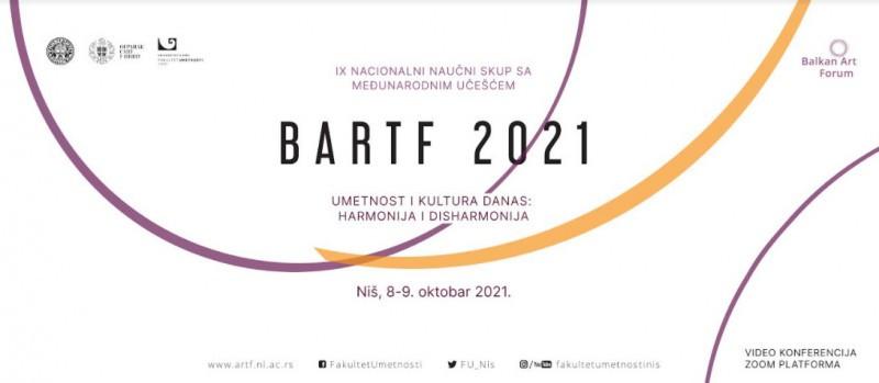 9. Национални научни скуп са међународним учешћем БАРТФ 2021 у онлајн формату