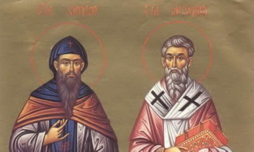 Danas su Sveti Ćirilo i Metodije