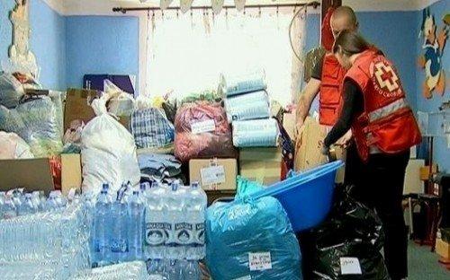 Црвени крст шаље помоћ угроженим породицама