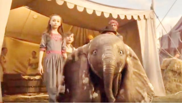 Полетите са Дамбом у свет циркуса