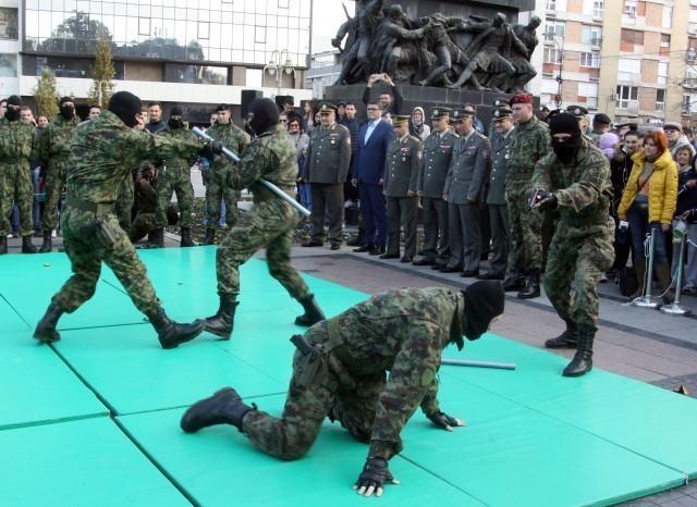 Pripadnici Kopnene vojske prikazali veštine i deo naoružanja