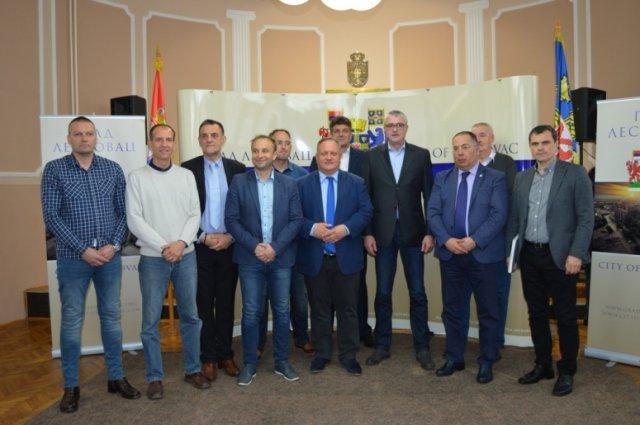 Предраг Даниловић посетио Лесковац