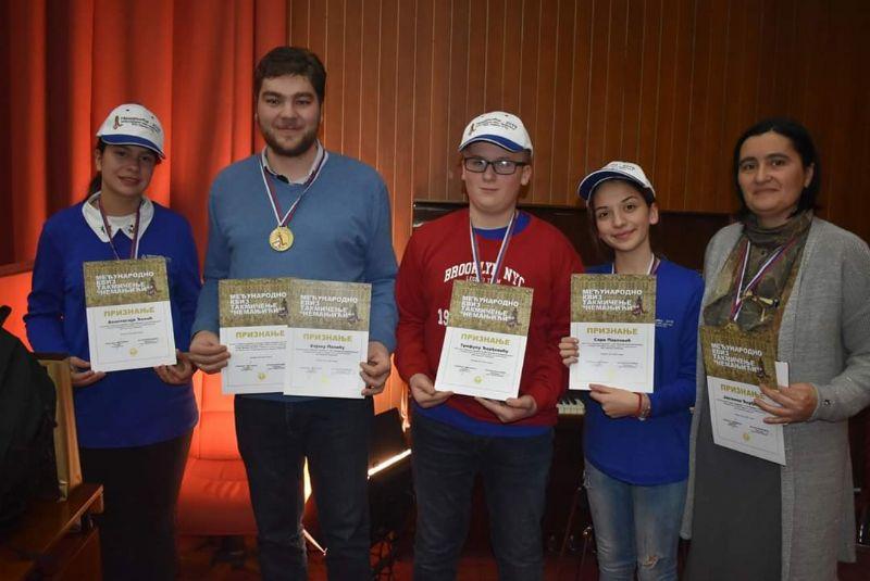 """Деца из Великог Шиљеговца освојила прво место на међународном квиз такмичењу """"Немањићи"""""""
