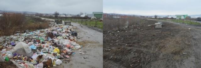 Очишћена велика дивља депонија код Лесковца