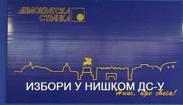 Изабрано руководство градског и шест општинских одбора ДС-а у Нишу, Гаџином Хану и Мерошини: излазност 78 одсто