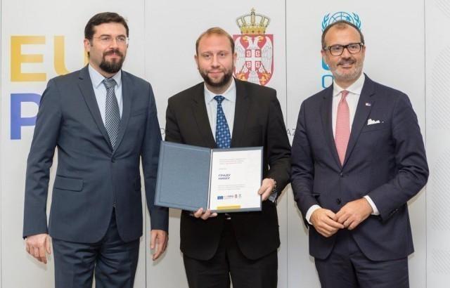 Podrška EU za izgradnju Ekspo centra u Nišu