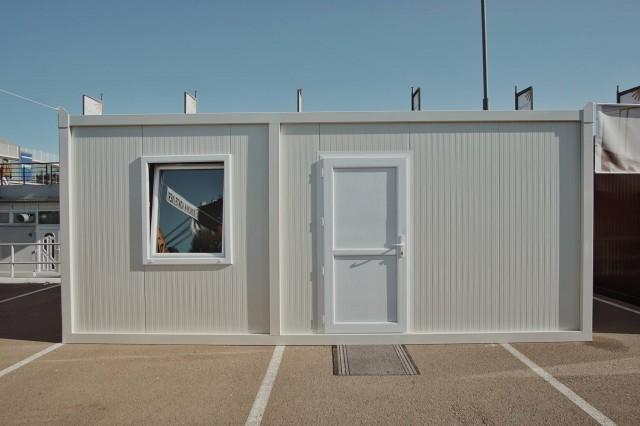 Ekonomik montažni kontejner dimenzija 6m x 2,4m