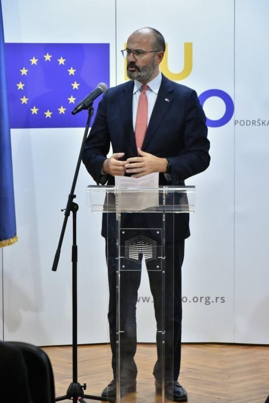 Посета Нишу шефа Делегације ЕУ у Србији