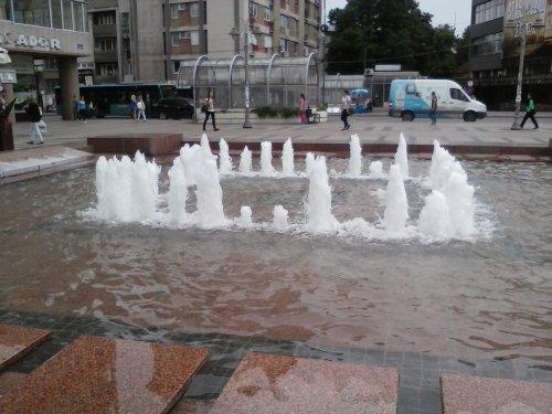 Fontana u centru Niša, Foto: Južna Srbija Info