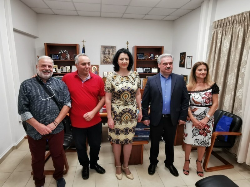 Сусрет начелнице Сотировски и градоначелника грчке општине Воли