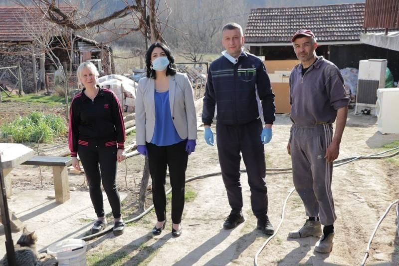 I u teškom danima humanost na delu: Nameštaj za porodicu Miljković