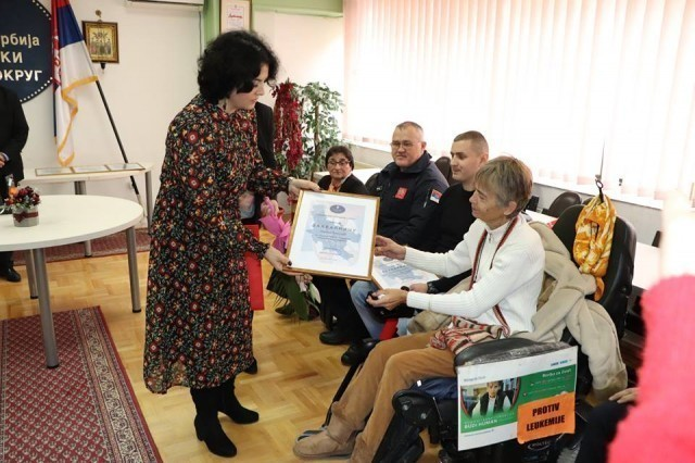 Захвалнице и поклони за најплеменитије од Нишавског округа у 2018. години