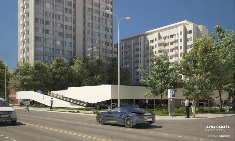 Изглед нове гараже, Фото: kapaprojekt.com
