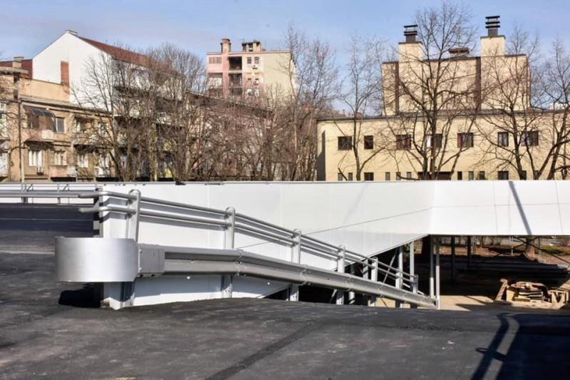 Uskoro završetak nove garaže na Sinđelićevom trgu