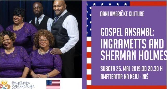Dani američke kulture: Legende američkog gospela u Nišu