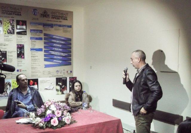 """Глумац треће вечери ПИП-а """"Сергеј Трифуновић"""""""