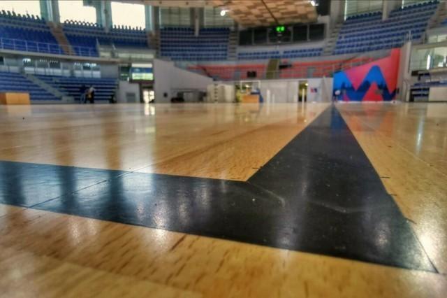 """Пред Европско првенство за жене у кошарци, замењен паркет у хали """"Чаир"""""""