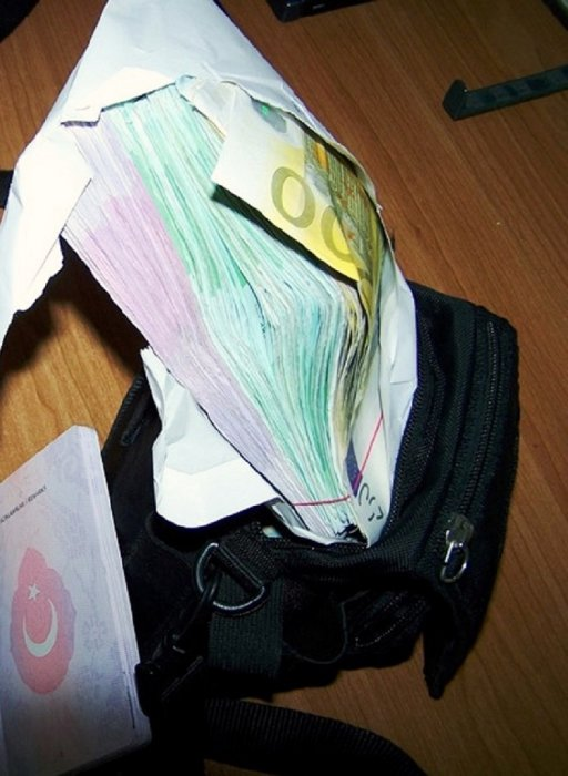 Градина: 110.000 евра у торбици за документа
