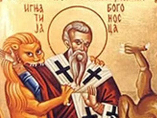 Данас је Свети Игњатије - Богоносац