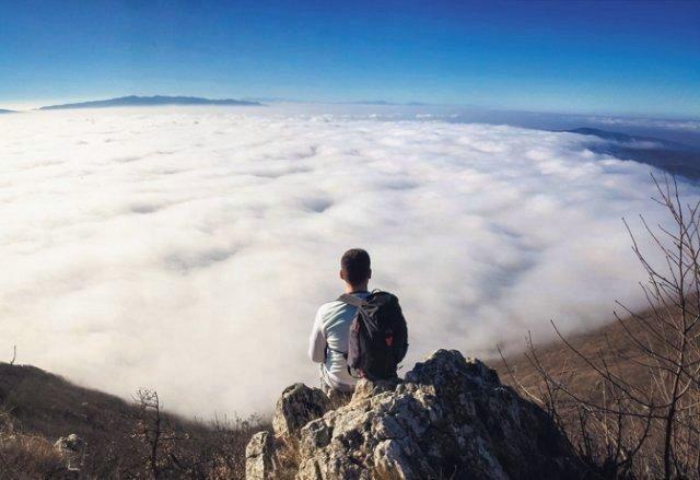Очаравајући поглед на са планине Озрен (Фото Инстаграм / @markonis18)