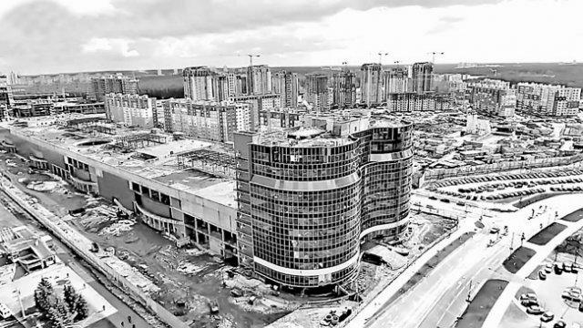 Градилиште БК групе у Минску, Белорусија (Фото БК група)
