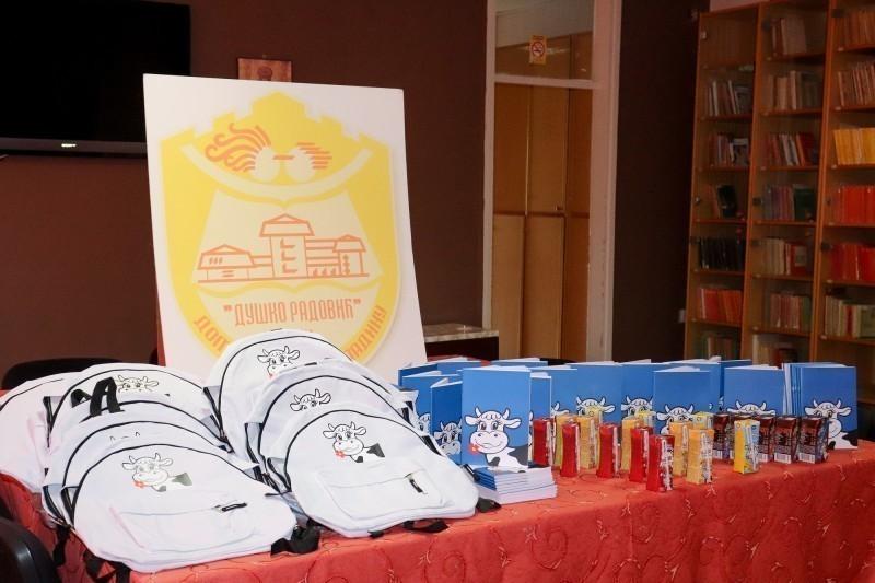 """Од """"Имлека"""" за почетак школске године: Млечни пакетићи за малишане из Дома """"Душко Радовић"""" у Нишу"""