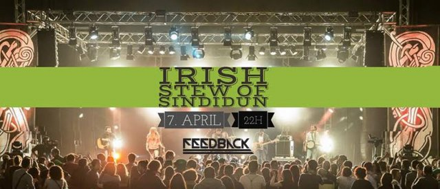 Карте у продаји за концерт групе IRISH STEW у Нишу